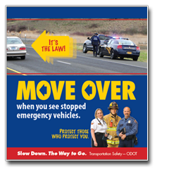 Oregon Move Over campaign